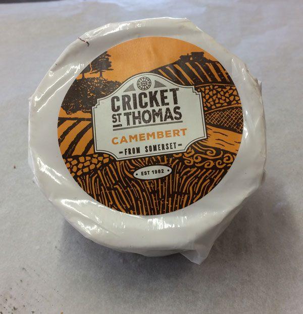 Cricket St Thomas Camembert