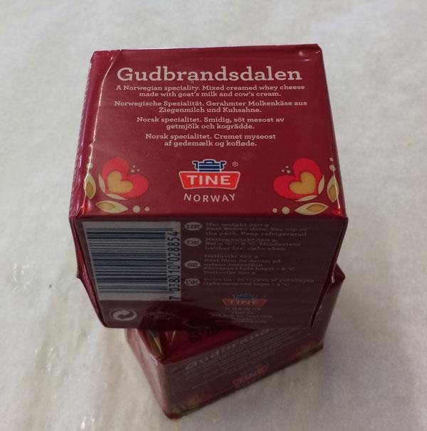 Geitost - Gudbrandsdalen