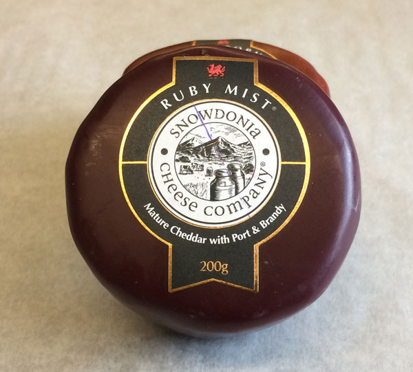 Snowdonia Ruby Mist Individual Cheese 200g Mark S