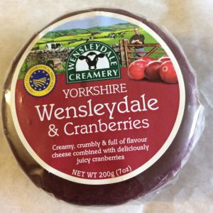 Wensleydale & Cranberries